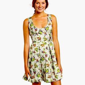 EUC BB Dakota botanical dress